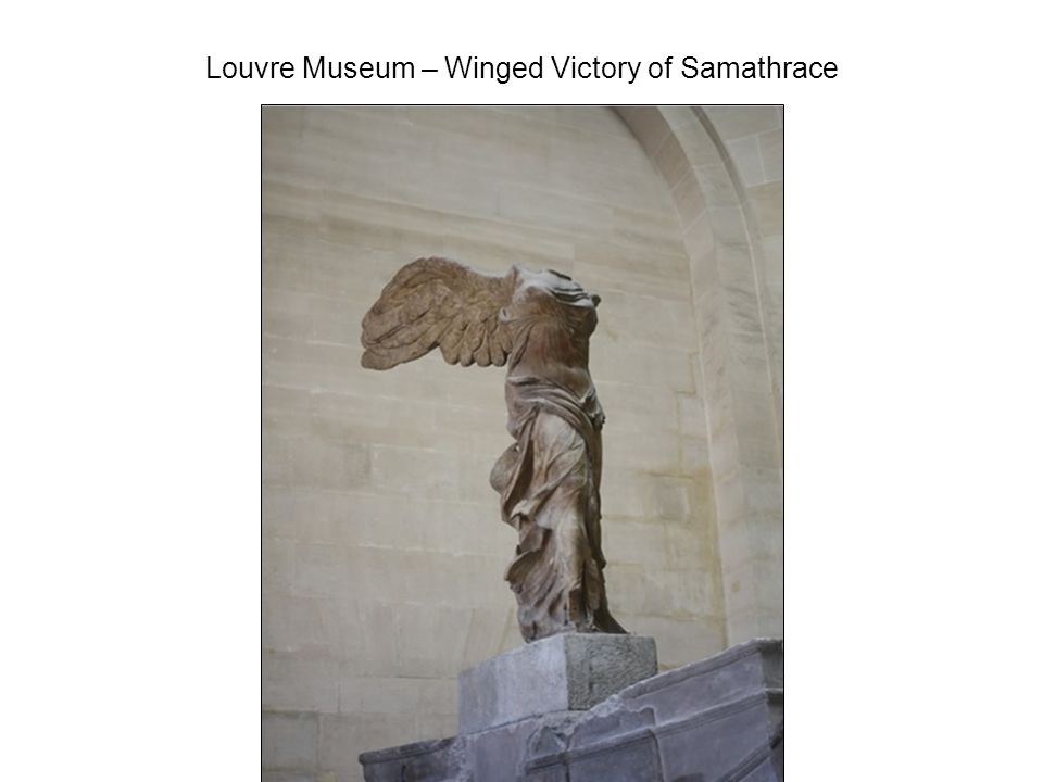 Louvre Museum – Winged Victory of Samathrace