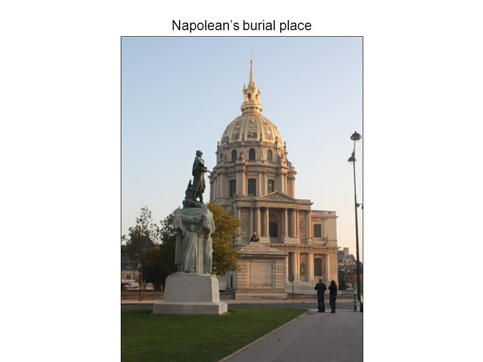Napolean's burial place