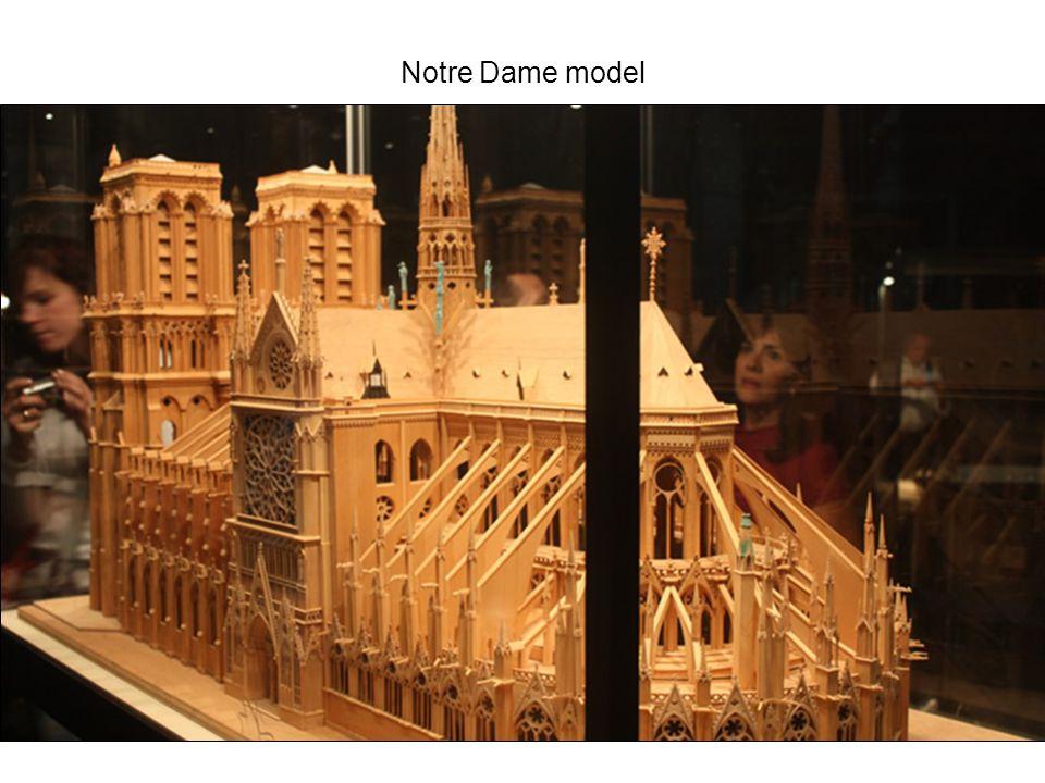 Notre Dame model