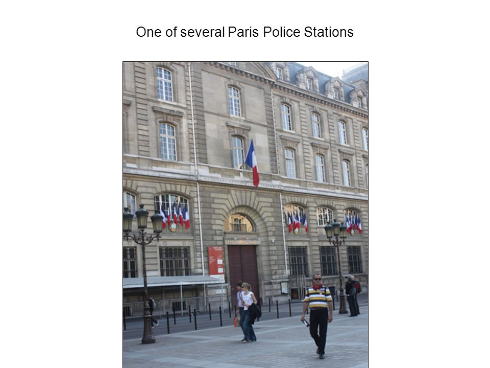 One of several Paris Police Stations