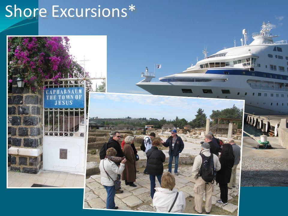 Shore Excursions*