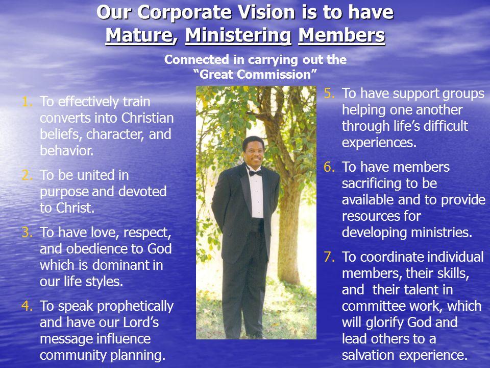 The Great Commission Matthew 28:18-20 PURPOSE Reach Teach Baptize/Enroll Curriculum The Great Commandment Matthew 22:37-40 Love God Love others