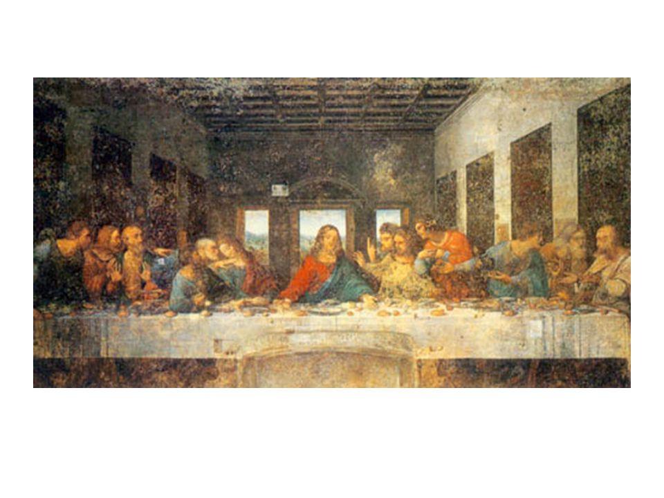 藝術作品 - 達文西名畫 最後的晚餐 Last Supper 最後的 晚餐