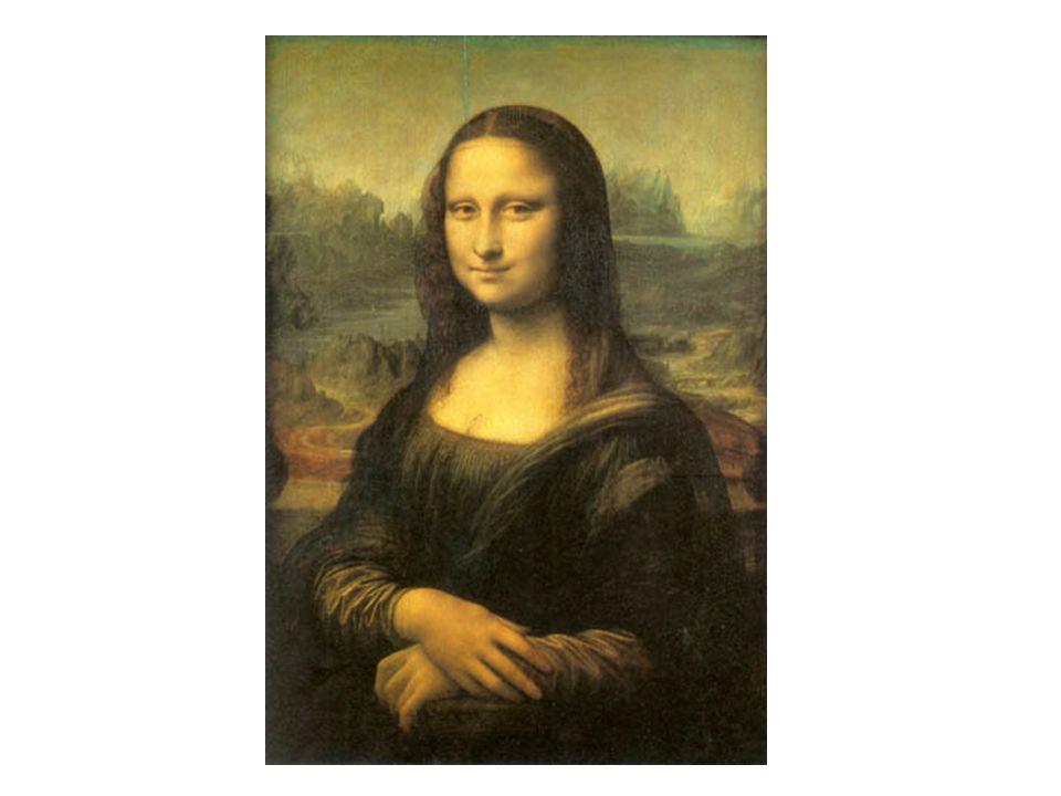 藝術作品 - 達文西名畫 蒙娜麗莎 The Mona Lisa (La Gioconda)