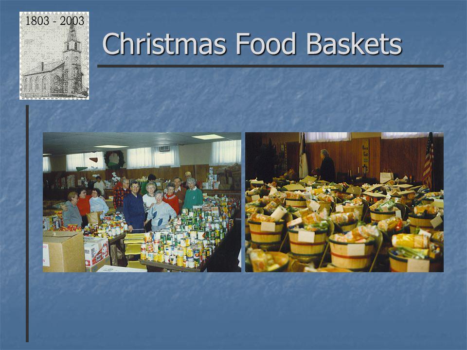 Christmas Food Baskets