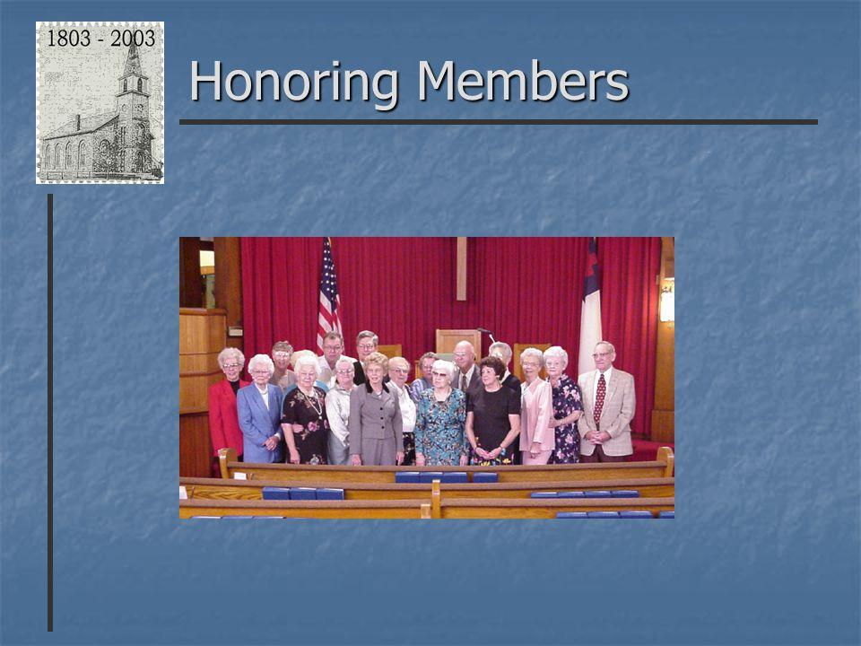 Honoring Members