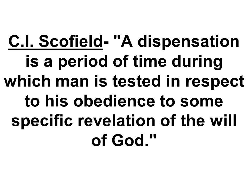 C.I. Scofield-