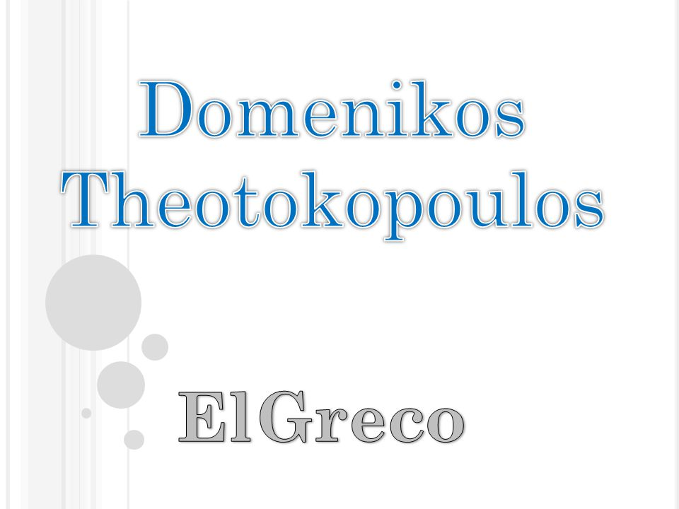 Domenikos Theotokopoulos was born in Crete in 1541 and he ……………………. (live) there until 1567.