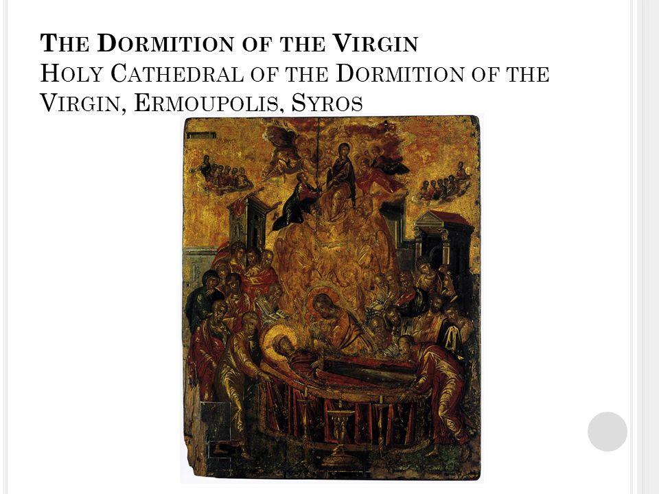 S T J OHN THE B APTIST - S T J OHN THE E NANGELIST (1577-79) S ANTO D OMINGO EL A NTIGUO, T OLEDO