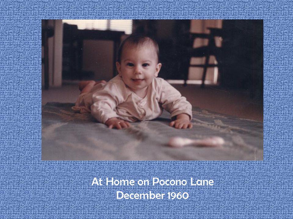 At Home on Pocono Lane December 1960