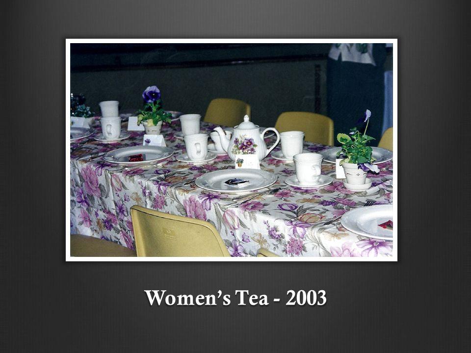 Women's Tea - 2003