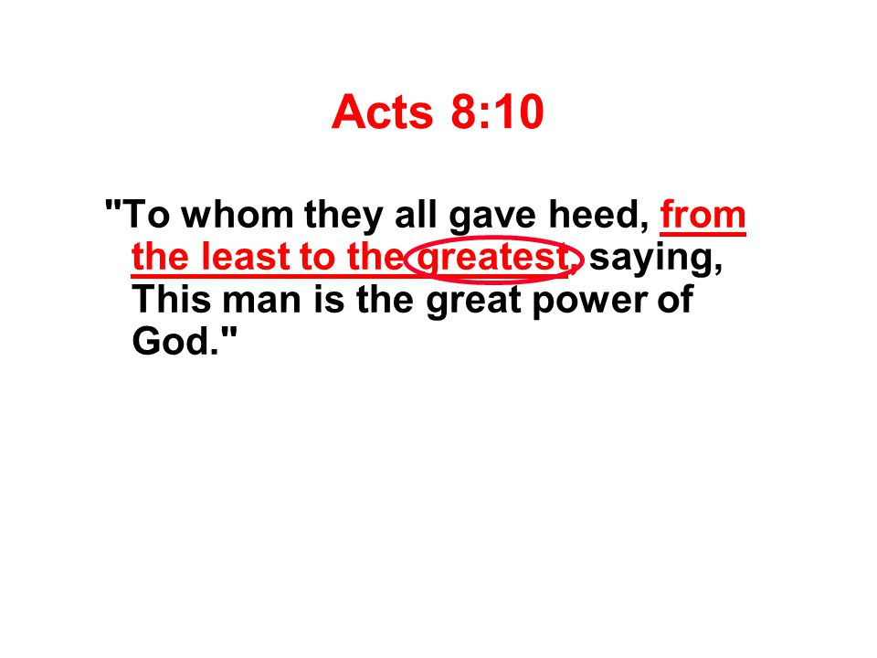 Acts 8:10