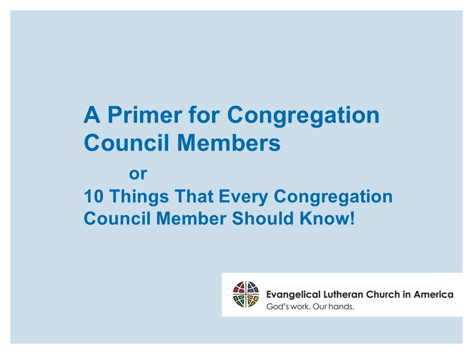ELCA Constitution 8.14 The churchwide organization shall implement the extended mission of the Church, developing churchwide policies in consultation with the synods and congregations, entering into relationship with governmental, ecumenical, and societal agencies in accordance with accepted resolutions and/or in response to specific agreed- upon areas of responsibility.