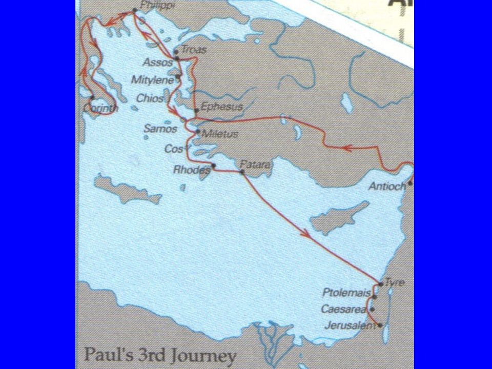 Another Vague Route through Galatia and Phrygia