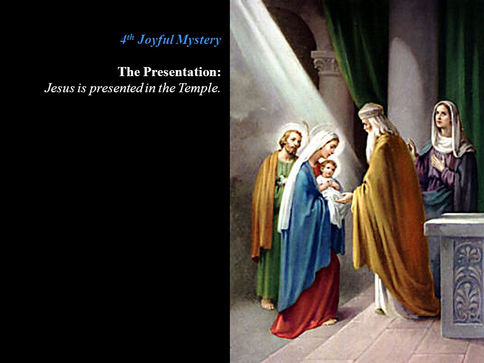 5 th Joyful Mystery The Finding in the Temple: Jesus is found in the Temple.