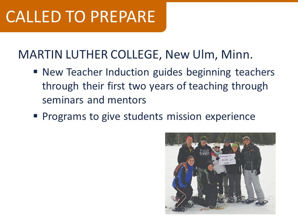 MARTIN LUTHER COLLEGE, New Ulm, Minn.