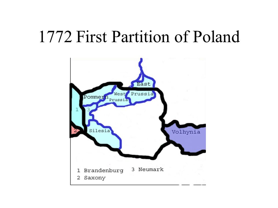 1772 First Partition of Poland