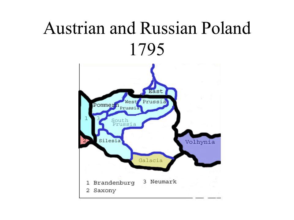 Austrian and Russian Poland 1795