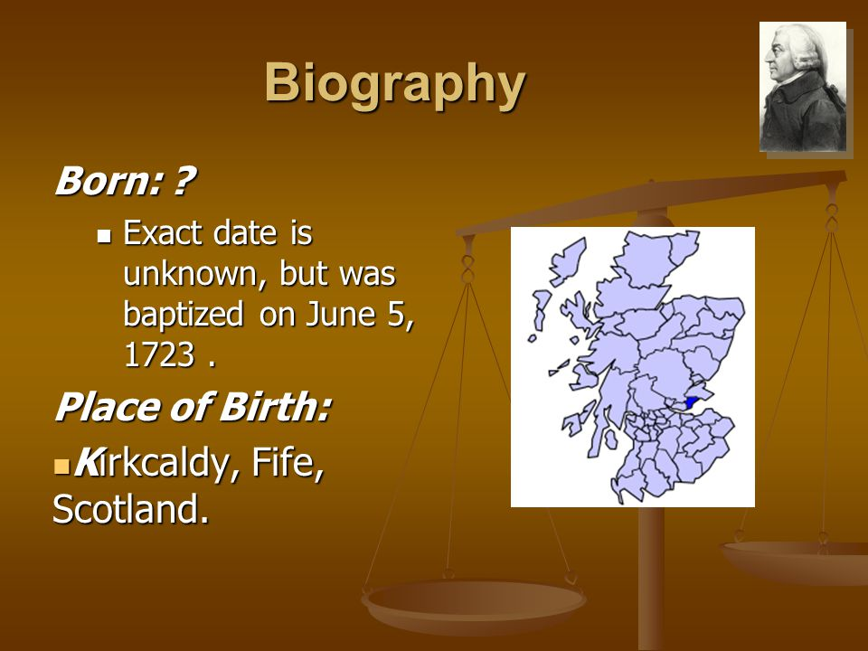 Biography Born: ? Exact date is unknown, but was baptized on June 5, 1723. Exact date is unknown, but was baptized on June 5, 1723. Place of Birth: Ki