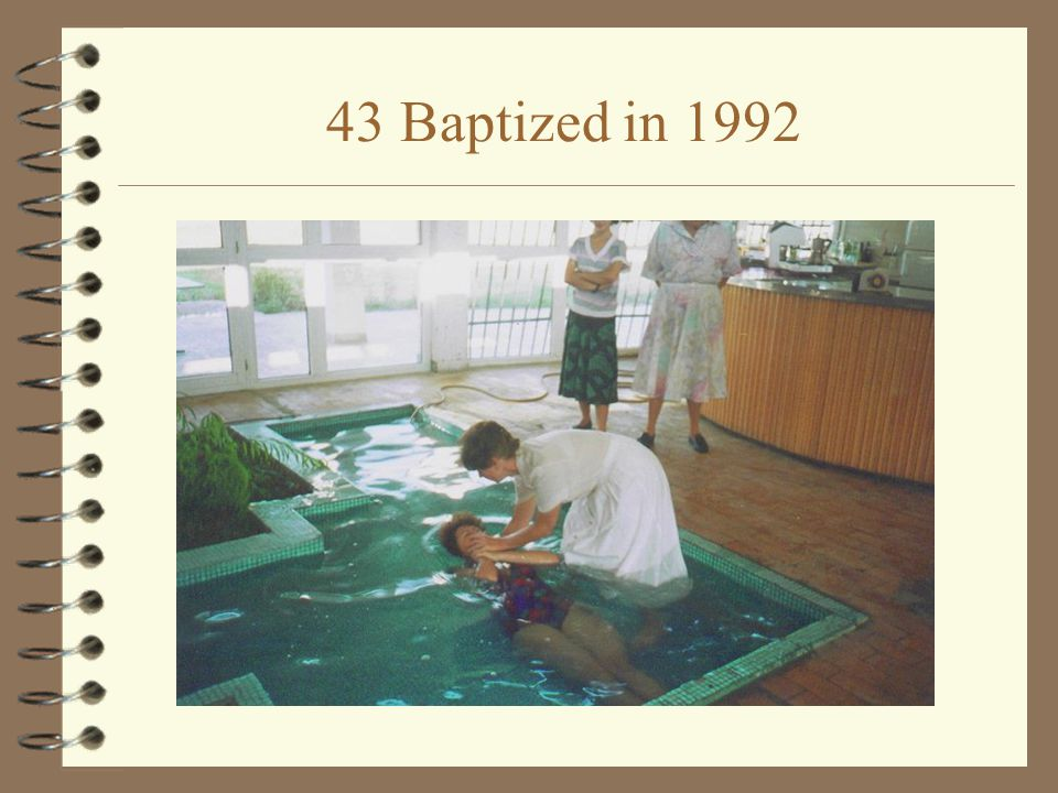 HISTORIC day AUGUST 2, 1992 4 THE FIRST TRUE CONVERTS IN ALBANIA uKlodiana Papakristi uEno Damo uArtur Kucl 4 BY AUGUST 29, 43 HAD BEEN BAPTIZED