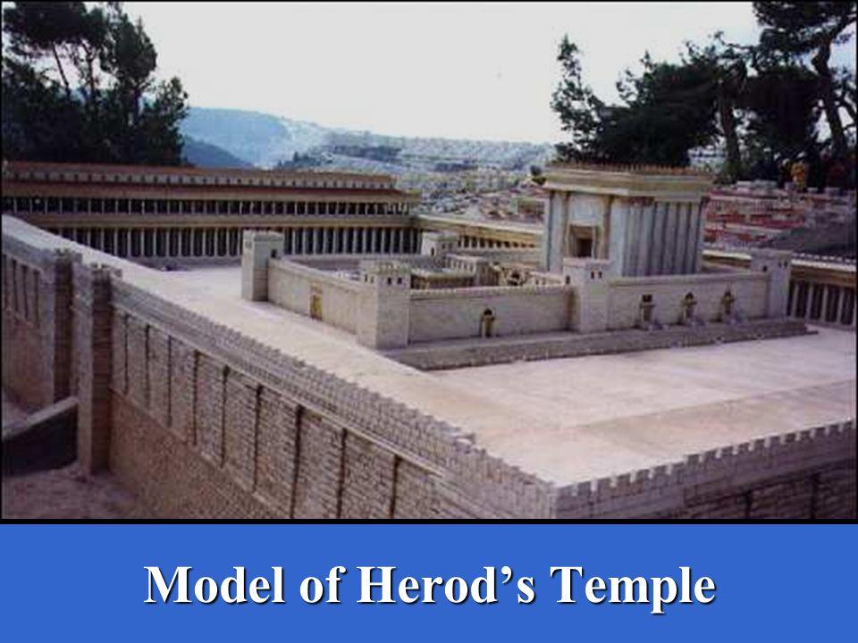 Model of Herod's Temple