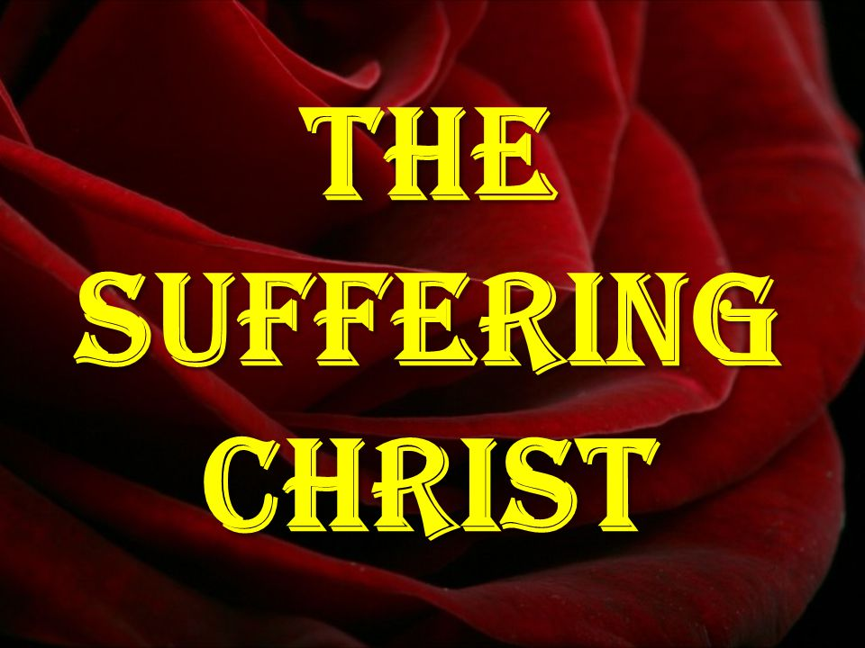 Thesufferingchrist