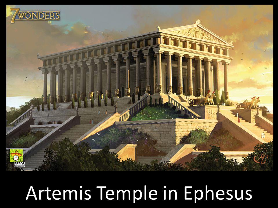 Artemis Temple in Ephesus