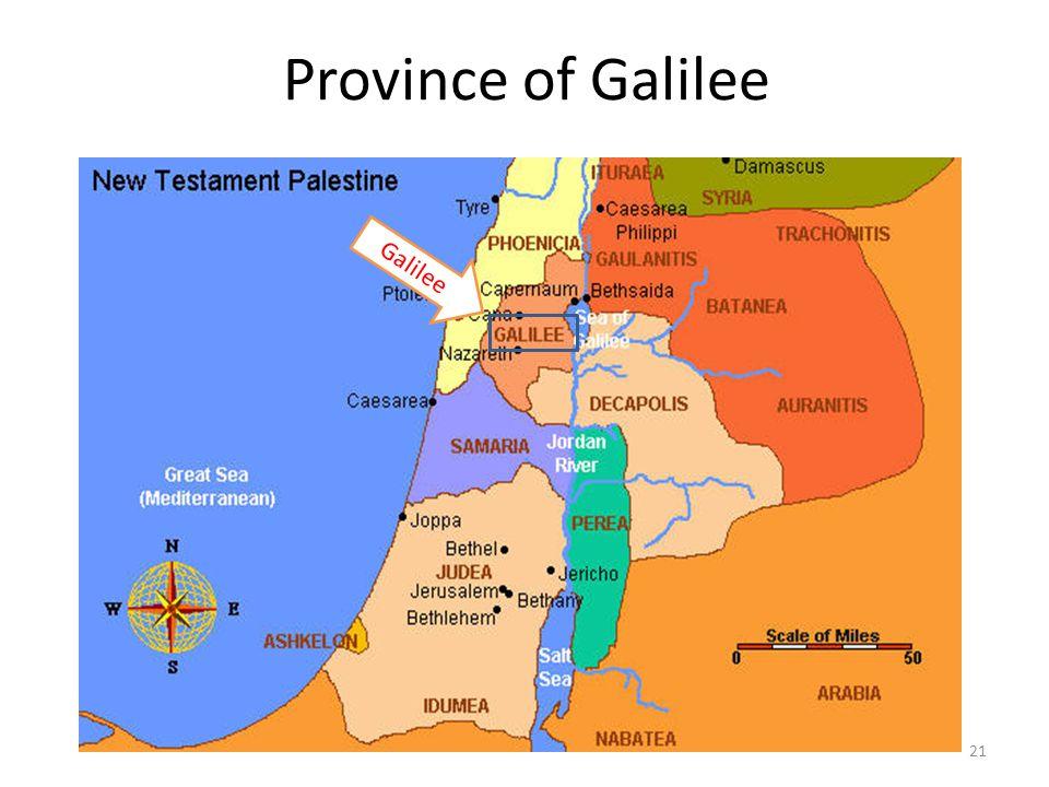 Province of Galilee Galilee 21