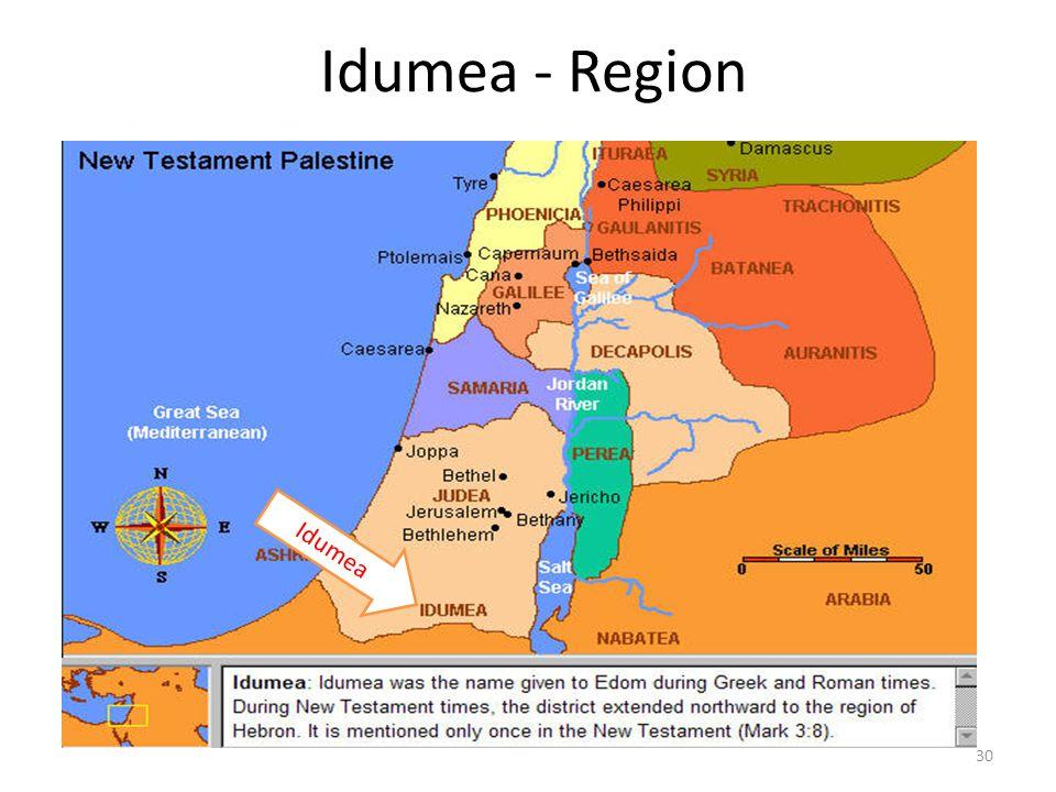 Idumea - Region Idumea 30