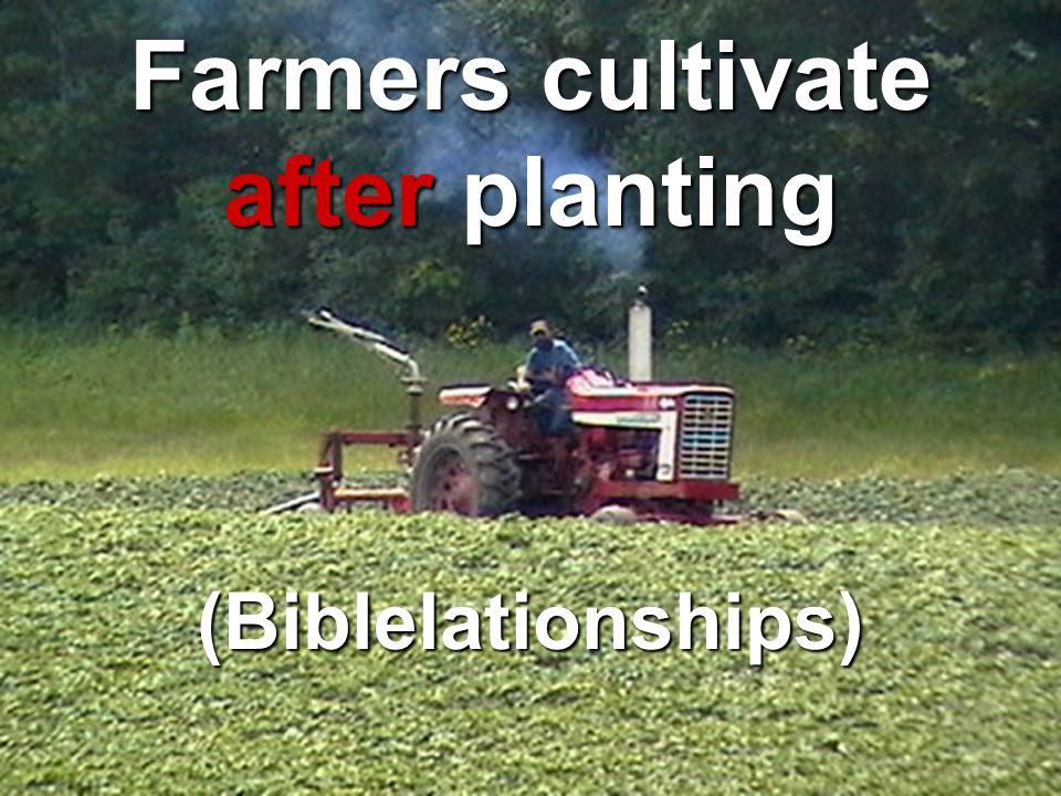 Farmers plant Seed (Personal Evangelism)