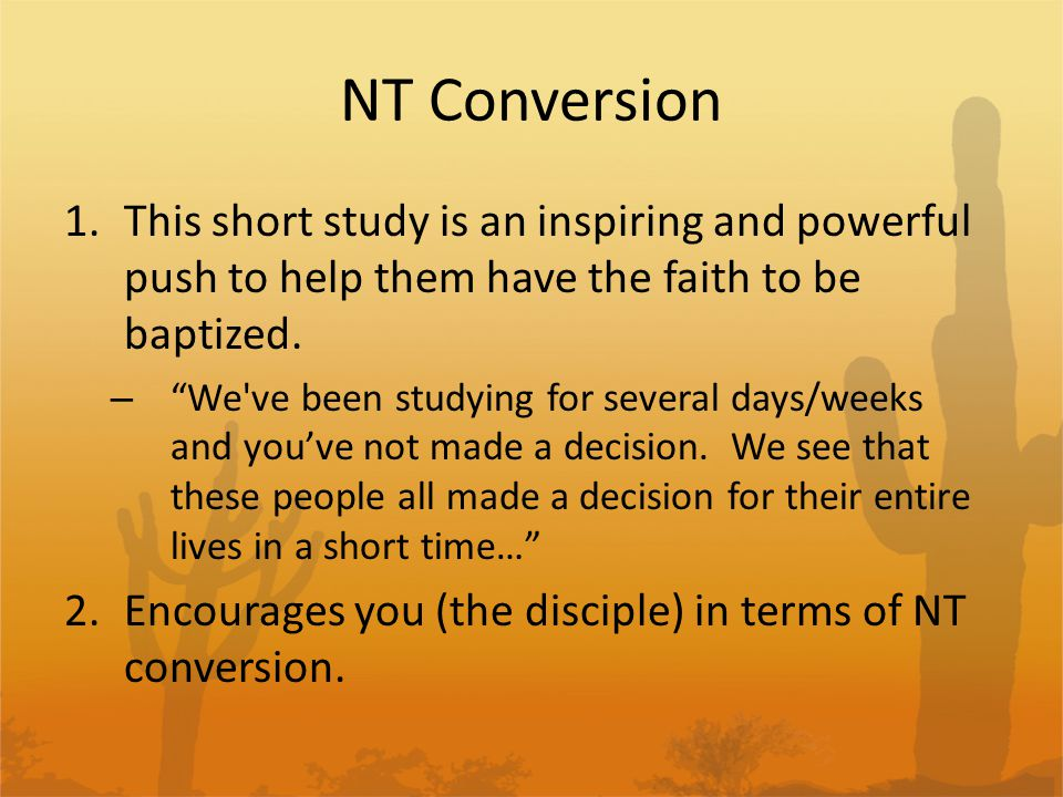 NT Conversion 6.) Acts 18:24-26 Apollos Apollos - A few things about this amazing, articulate preacher.