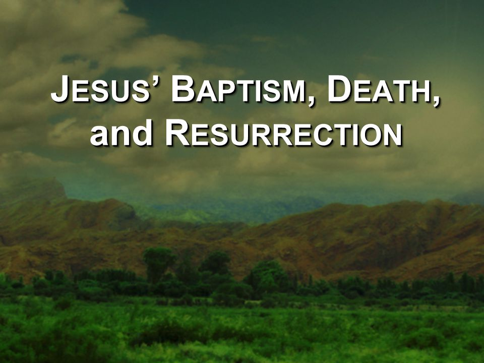 13 Then Jesus came from Galilee to the Jordan to be baptized by John.