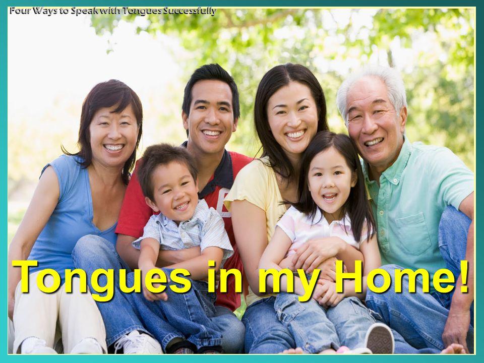 TONGUES!TONGUES.1. Pentecostal Tongue An Option: May Be An Option: May Be 2.