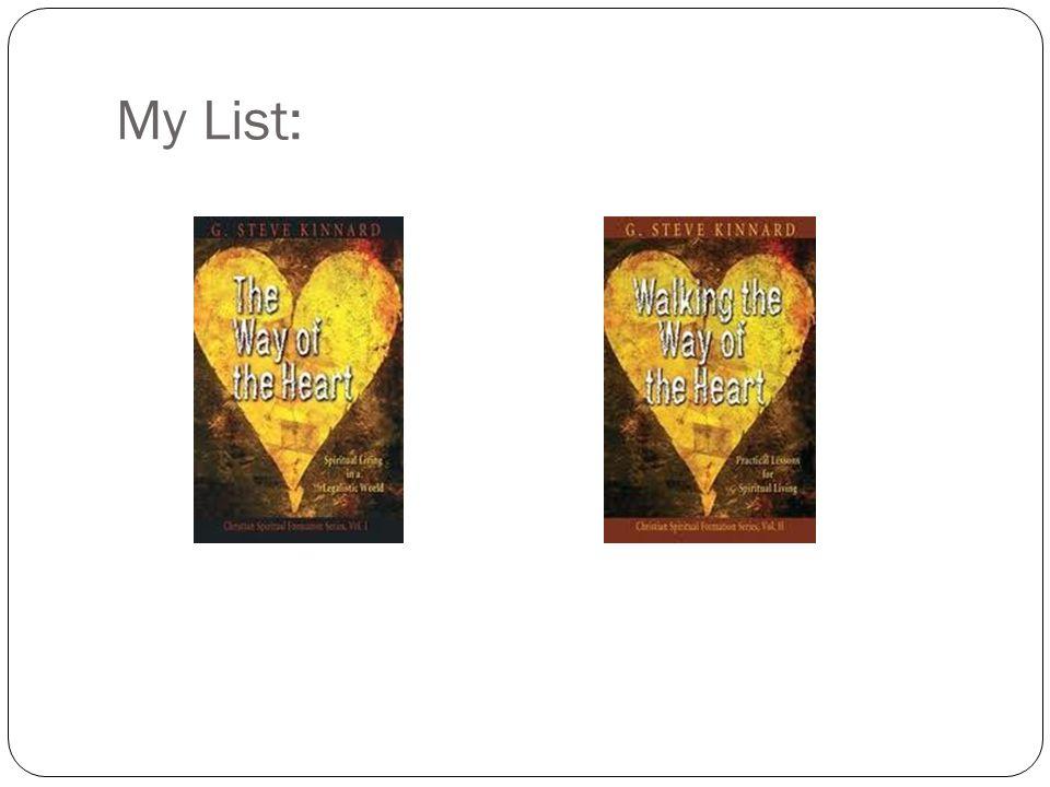 My List: