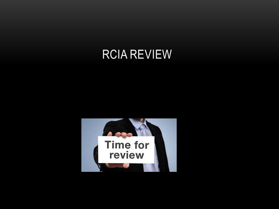 RCIA REVIEW