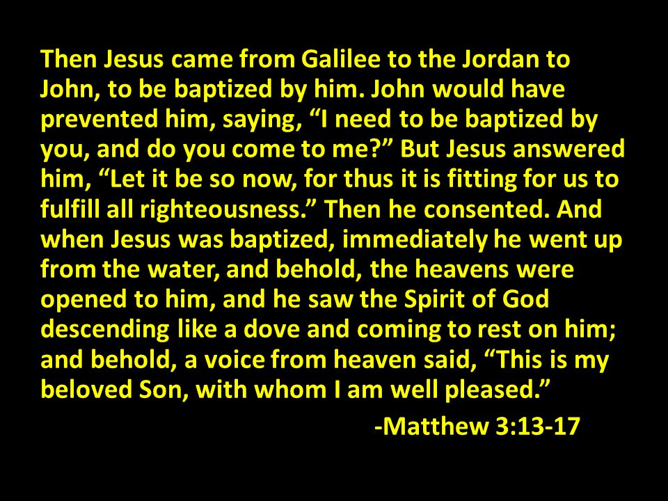 Then Jesus was led up by the Spirit into the wilderness to be tempted by the devil.