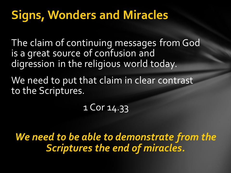Summary of First Mode mode The first mode (or method) of receiving miraculous abilities is the laying on of an Apostle's hands.