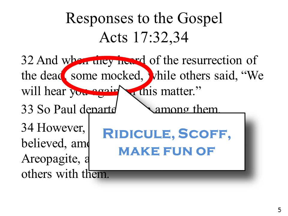Do some Mock the Gospel today.Yes. Jesus warned us that they would.