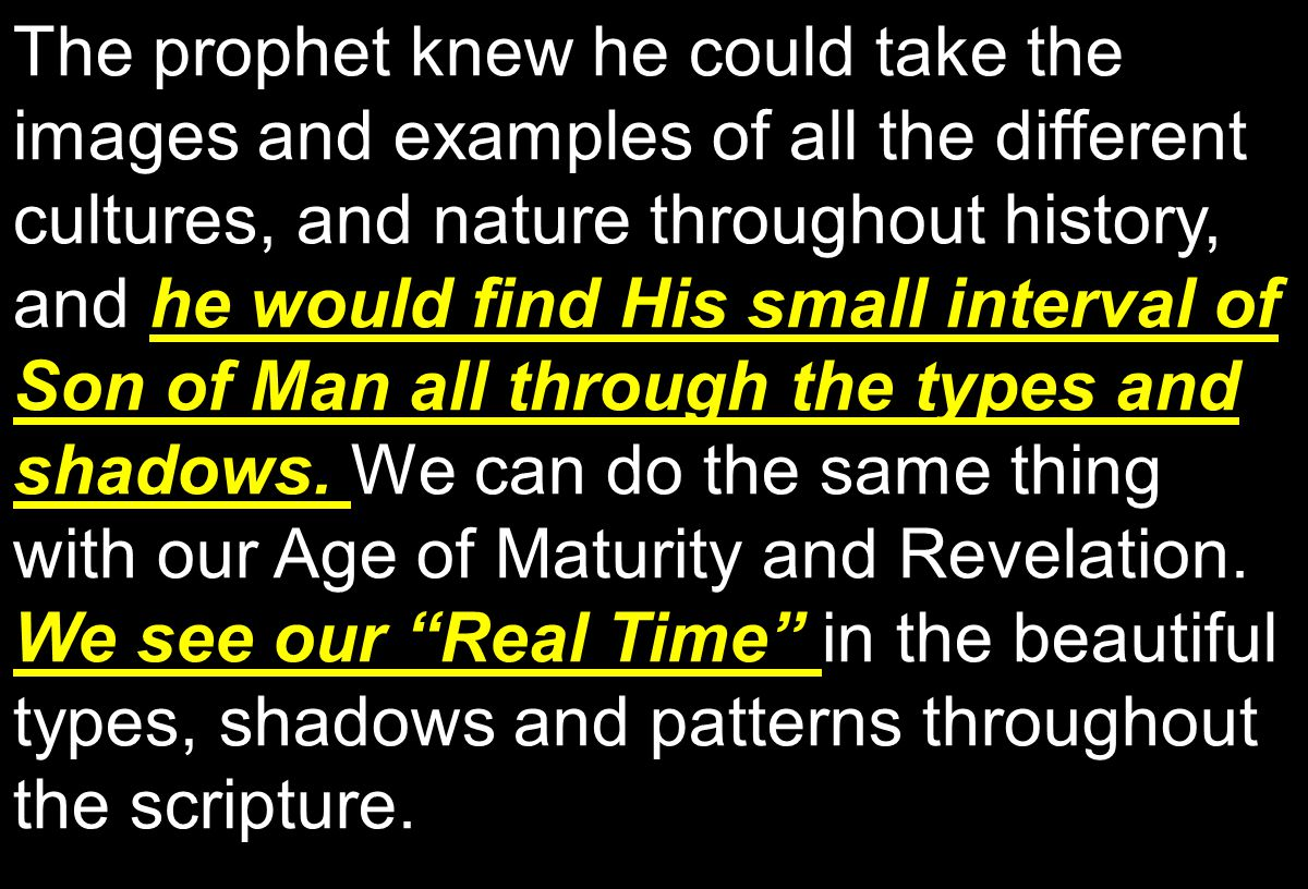raising the believers into the Revelation Age .He gave us this position at opening of the seals.