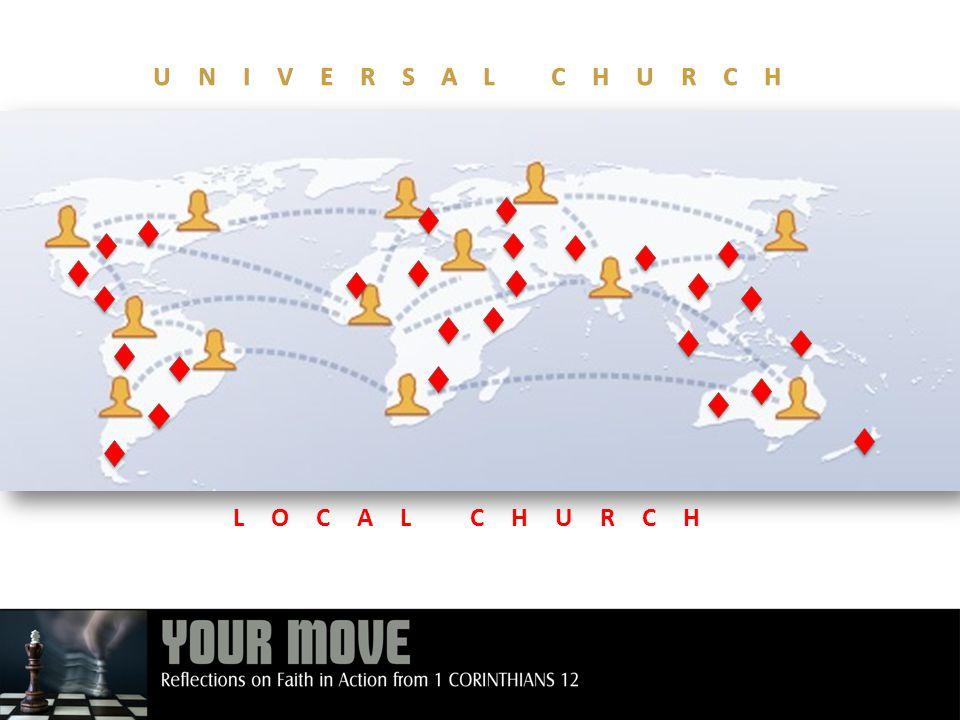 UNIVERSAL CHURCH LOCAL CHURCH