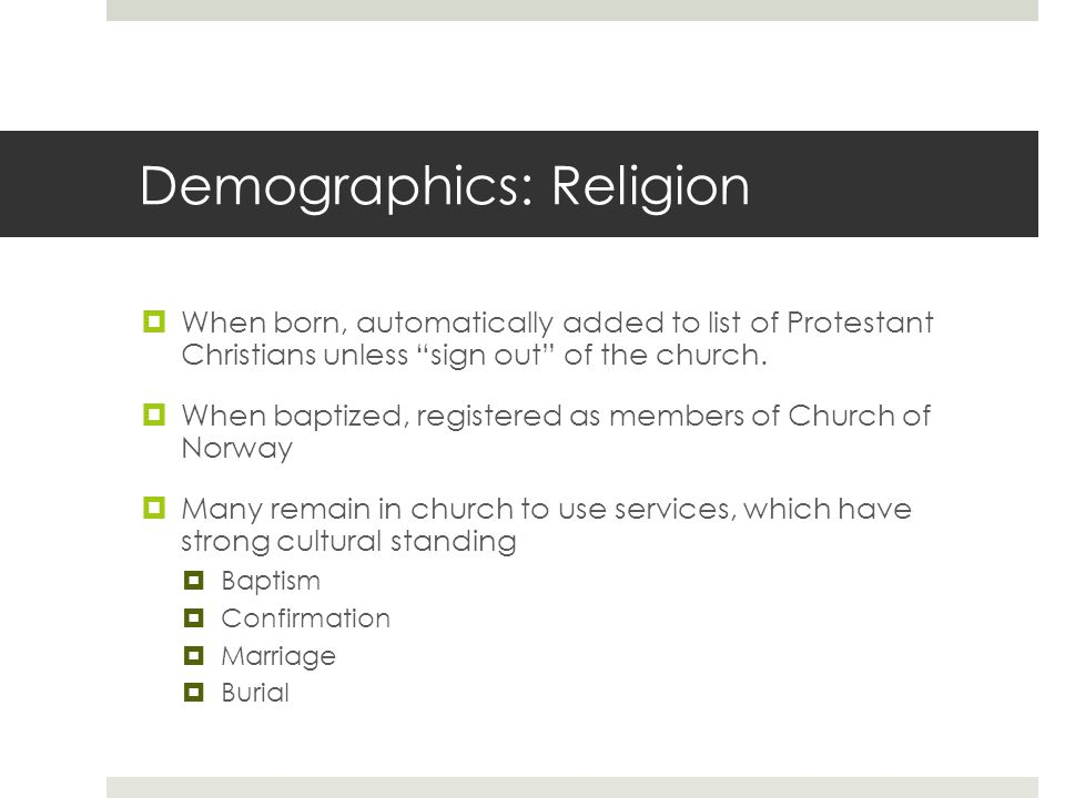 Demographics: Religion  Christianity: Evangelical Lutheran Church (82.7%)  Other religious or philosophical communities (8.6%)  Roman Catholics  Orthodox Christians  Jews  Hindus  Buddhists  Sikhs  Non-religious (8.7%)