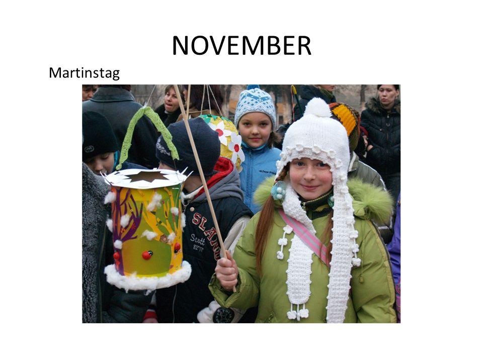 NOVEMBER Martinstag