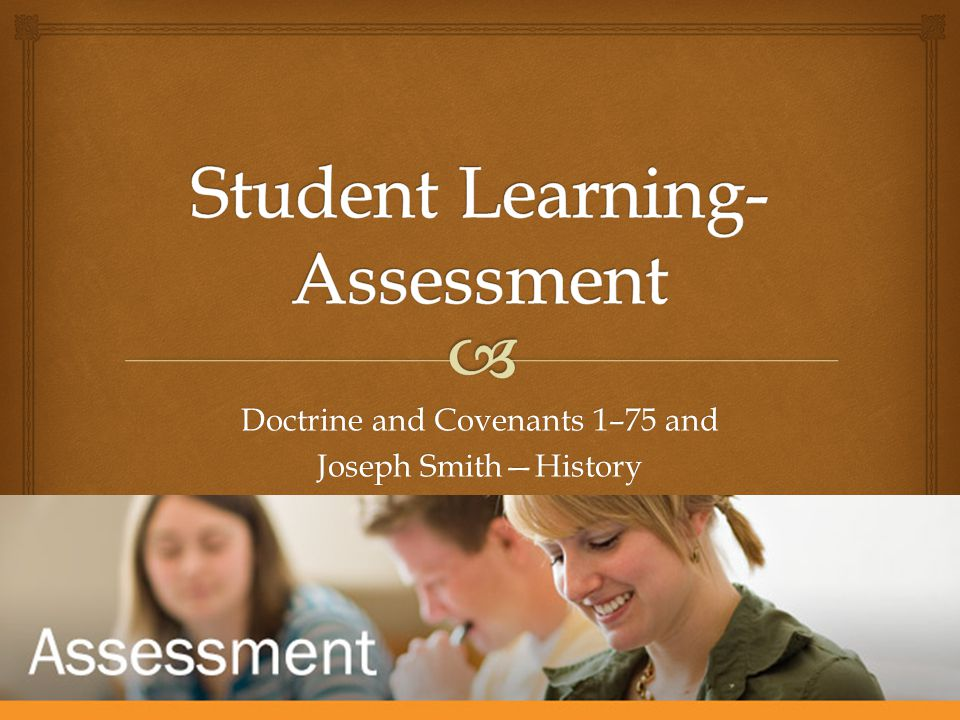 Doctrine and Covenants 1–75 and Joseph Smith—History