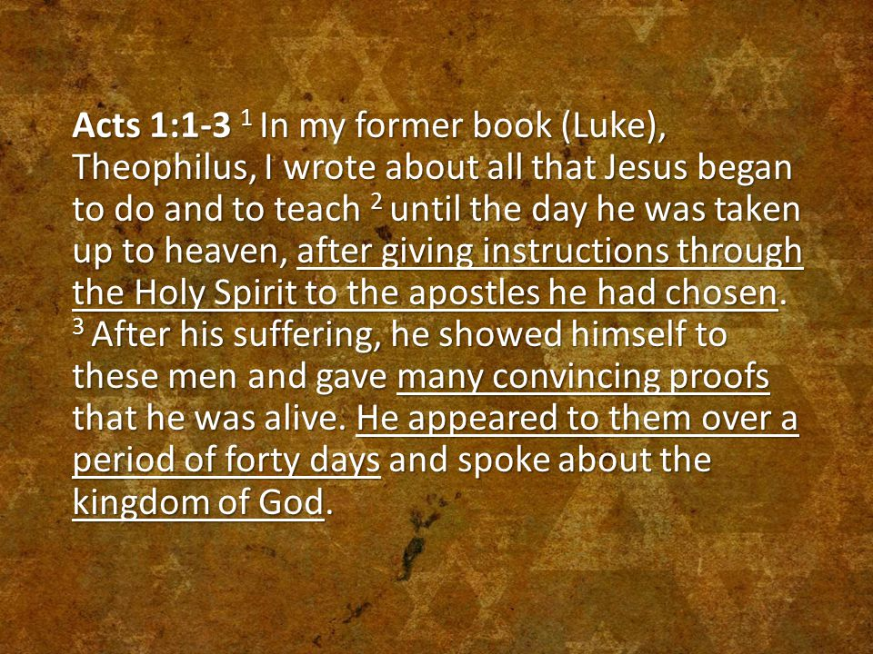  Jesus gives the Great Commission – Our Mission Matthew 28:18-20 18 Then Jesus came to them and said, All authority in heaven and on earth has been given to me.