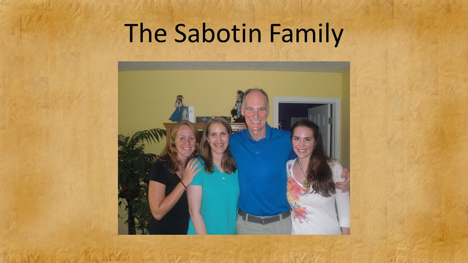 The Sabotin Family