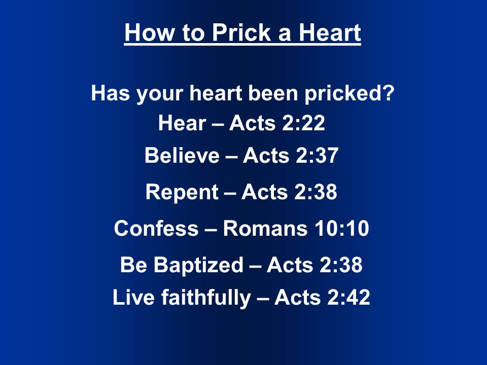 How to Prick a Heart Has your heart been pricked.