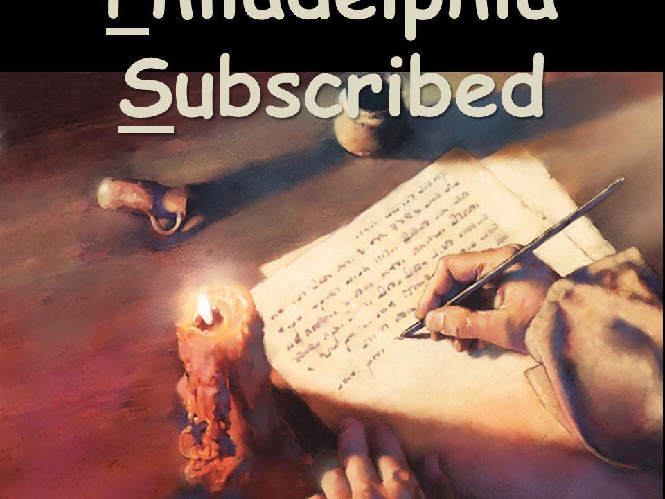Philadelphia Subscribed
