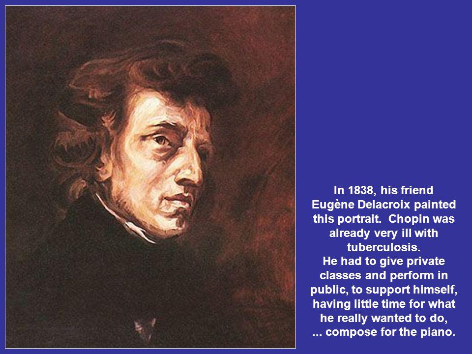 Ballade No. 1 - Chopin's handwritten partiture.