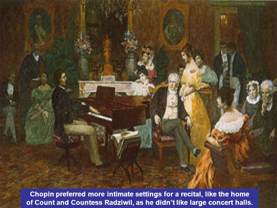Maria Wodzińska was Chopin's student; she painted this portrait and gave it to him.