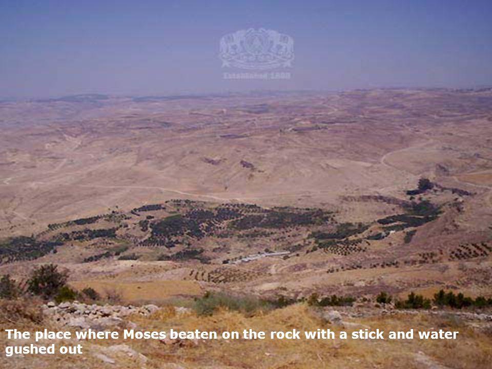 Kumran mountain ranges, Where the dead sea scrolls